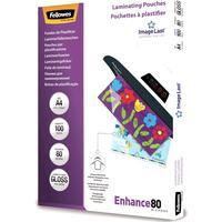 Fellowes Laminierfolien Enhance A4 glanz 100 Stück (5306101)
