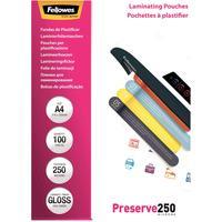 Fellowes Laminierfolien Preserve A4 250 mic glänzend