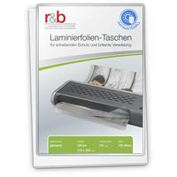 R&B Laminierfolien A4, antibakteriell,