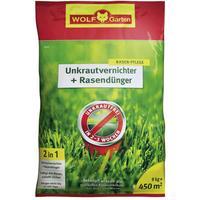 WOLF-Garten SQ 450 Unkrautvernichter plus Rasendünger 9 kg