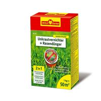WOLF-Garten SQ 50 2-in-1 Unkrautvernichter plus Rasendünger 1 kg