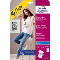 Zweckform Transferfolie T-Shirt DIN A4 190 g/m² 5+1 Bl.