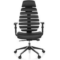 HJH Office Ergo Line II Pro Leder schwarz