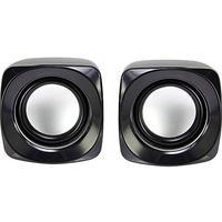 Basetech S181 2.0 PC-Lautsprecher Kabelgebunden 6W Schwarz