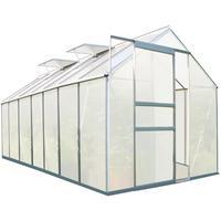 Zelsius Gewächshaus Alu HKP 6 mm 8,2 m²