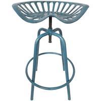 Esschert Design Traktorstuhl blau, IH034