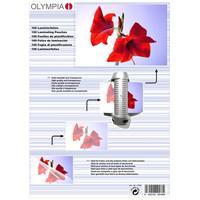 Olympia Laminierfolien DIN A 4 80 micron (9166)