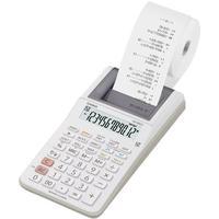Casio HR-8RCE-WE Druckender Tischrechner weiß