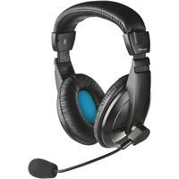 Trust Quasar PC-Headset 3.5mm Klinke schnurgebunden Over Ear Schwarz